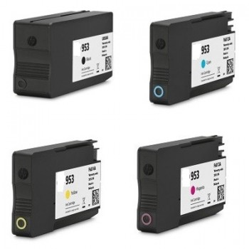 Ink HP compatibile con 953 XL BK