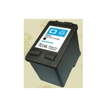 Ink HP compatibile con HP 301 XL Bk new