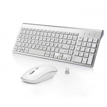 Tastiera + Mouse Wireless full size compatibile iMac