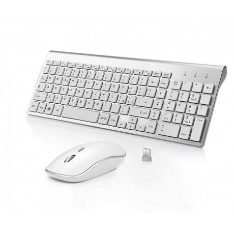 Tastiera + Mouse Wireless full size compatibile iMac