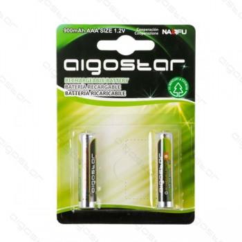 Mini Stilo AAA Confezione da 2 pile Rechargeable Aigostar 900 mAh