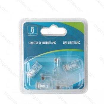 plug 8 poli rj45 (confezione 6pz)