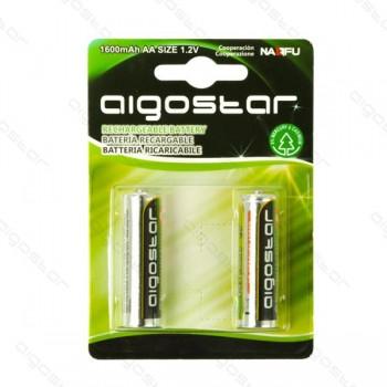 Stilo AA Confezione da 2 pile Rechargeable Aigostar 1600 mAh