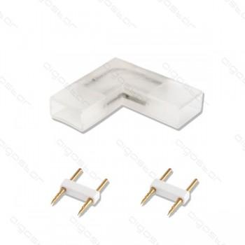 connettore L per striscia led 2835