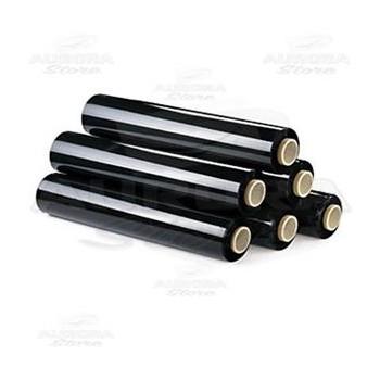 Film estensibile nero bobina 2.2Kg 23 micron 50cm €1.65 kg