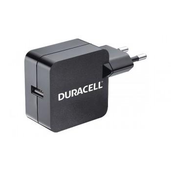 Caricatore USB da rete per Tablet e Smartphone nero