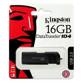 16GB USB 2.0 Flash Memory Drive Kingston DT104