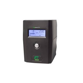 UPS monofase Line Interactive con display 2000VA 1000W 10\' Software incluso