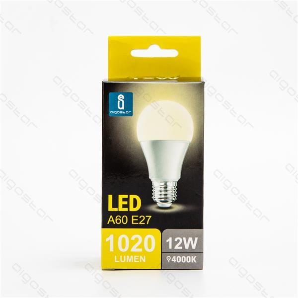 Lampada led A5 A60 E27 15W luce naturale
