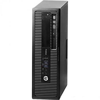 Pc Hp 600 G1 sff i3-4130 4Gb 500Gb W8P Coa