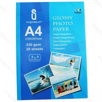 Carta A4 Aigostar 20 fogli da 230gr foto