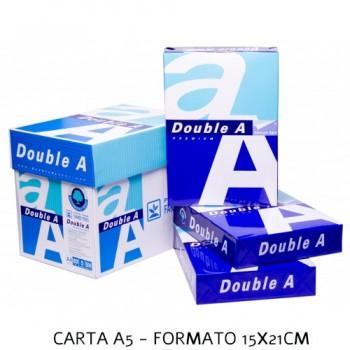 Carta A5 Double A fascia A certificata