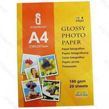 Carta A4 Aigostar 20 fogli da 180gr foto