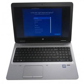NB 15.6 HP 650 G3 i5-7300U 8Gb 256Gb ssd W10P Coa tast. ITA 3 anni gar.