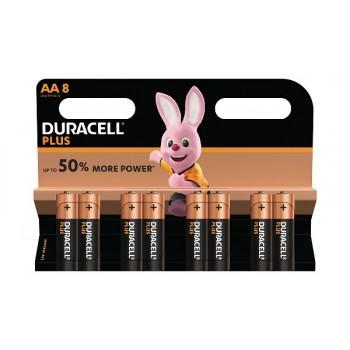 Stilo AA Confezione da 8 pile Duracell Plus Power