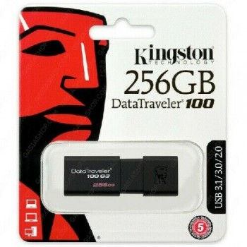 256GB USB 3.0 Flash Memory Drive Kingston DT100G3