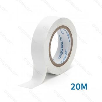 Nastro isolante PVC 0.13*17*20M  WHITE