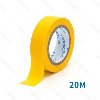 Nastro isolante PVC 0.13*17*20M  YELLOW