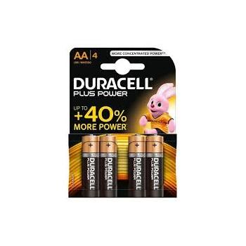 Stilo AA Confezione da 4 pile Duracell Plus Power