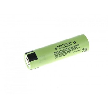 18650 Li-Ion Panasonic Cell NCR18650PF 2900mAh