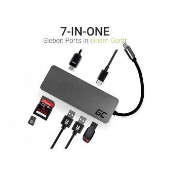 Hub USB-C, HDMI: 4K x 30Hz o FullHD 1080p x 60Hz / USB-C PD x14k