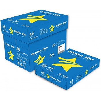 Carta A4 Golden Star Premium confezione 5 risme (2.35 risma)