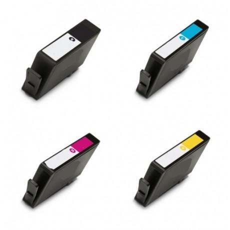 Ink HP compatibile con HP912XL Y