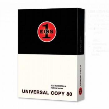 Carta A4 Universal Copy Black confezione 5 risme (2.29 risma)