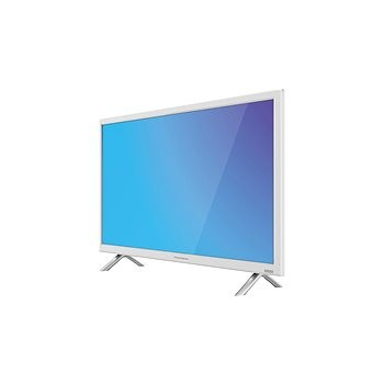Tv Led 24 Thomson 24HA4243W Hd ready DVB-T/C 100Hz 2xHDMI 2xUSB bianco Lan + telecomando