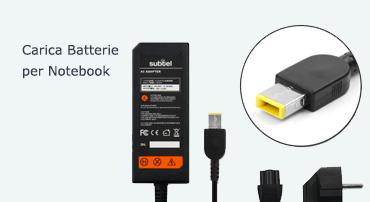 Carica batterie originali e compatibili per notebook